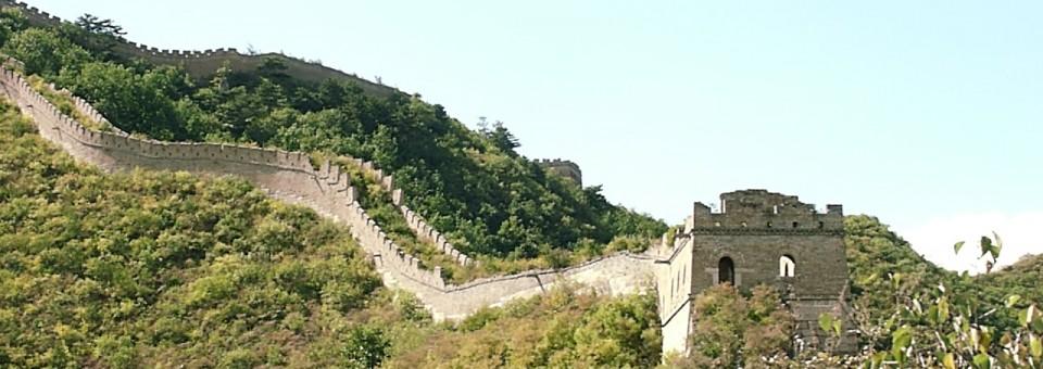 Through China from Beijing to Hong Kong